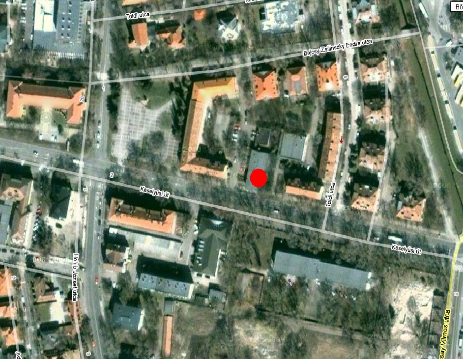 google térkép szekszárd VAKOK ÉS GYENGÉNLÁTÓK TOLNA MEGYEI EGYESÜLETE